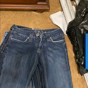 BeBe dark wash Jeans. Excellent condition